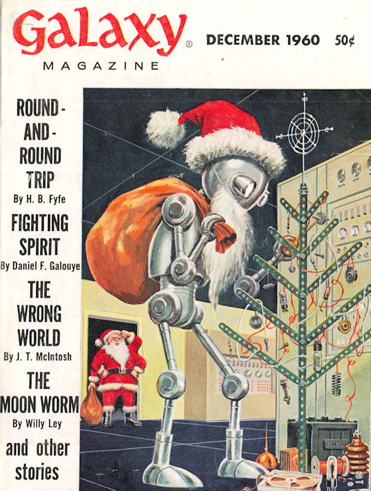 Cover of Galaxy December 1960