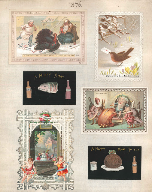 E. W. Winstanley's Book of Christmas Cards: SPEC K11.14
