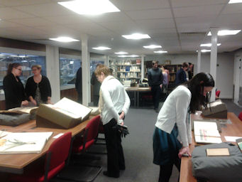 Valentine's Day event in  Special Collections & Archives
