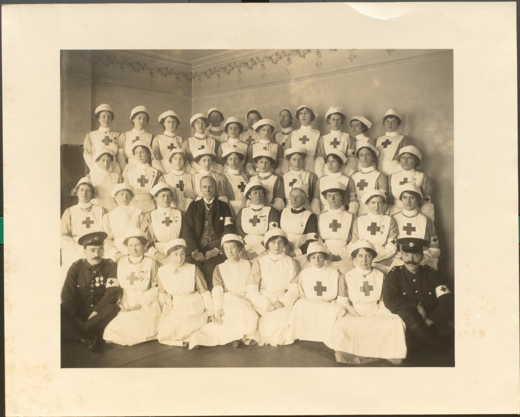 Image form Rathbone papers RPXXV.7.208 Red Cross nurses