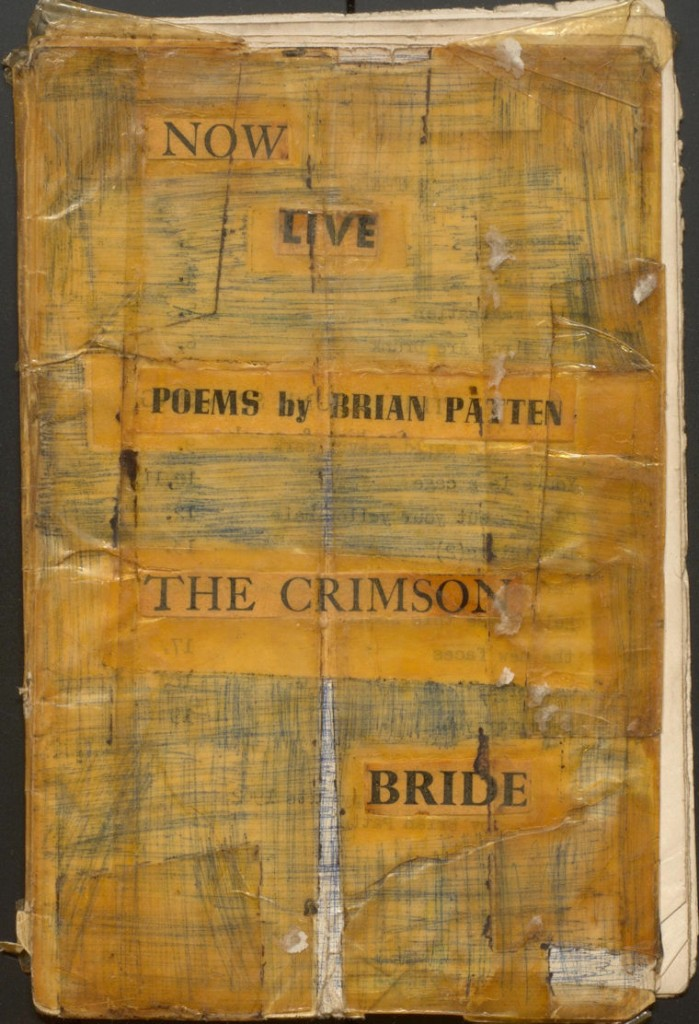Patten/1/1/59/5 Handmade poetry booklet (fragment)