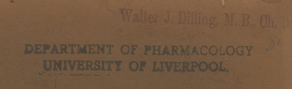 Y87.3.263 Walter J. Dilling Name Stamp