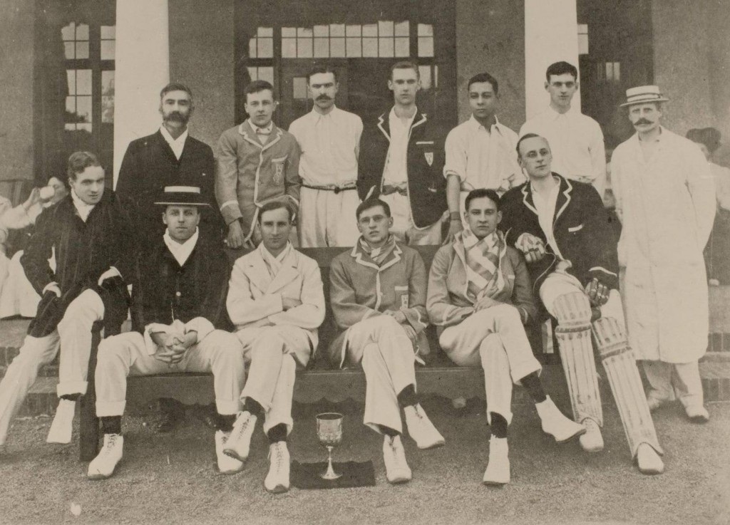 University cricket XI, 1908 (D326/1/4)