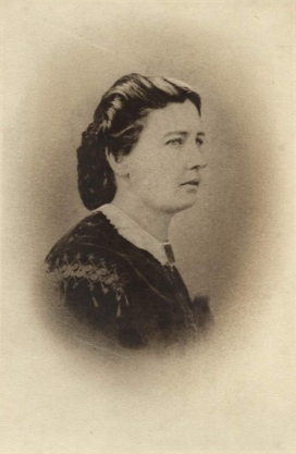 Flora Parker (1830-1904), eldest daughter of William Parker