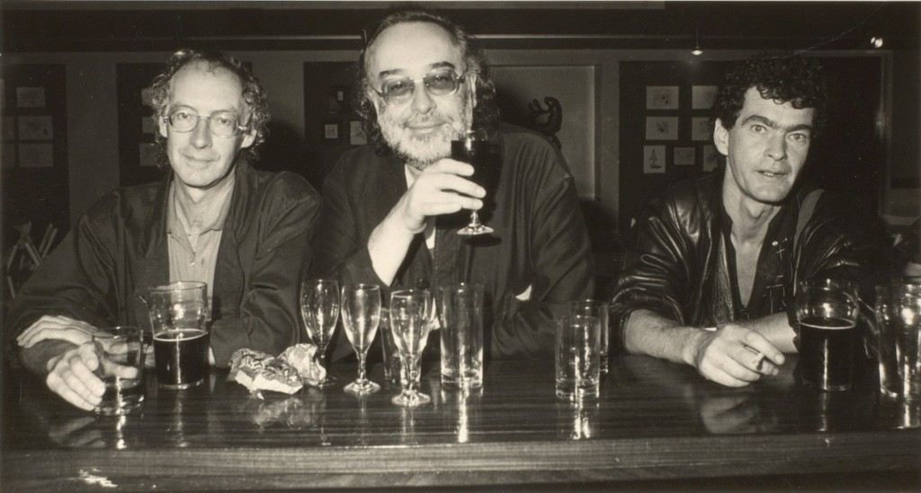 Photograph (n.d.) Photograph of Brian Patten, Adrian Henri, and Roger McGough. McGough/12/2/2