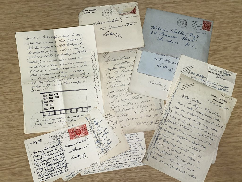 Letters from Charles Reilly