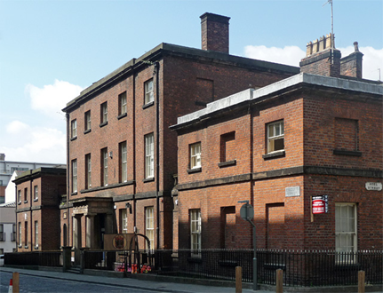 Photograph of the LRI building as it is today