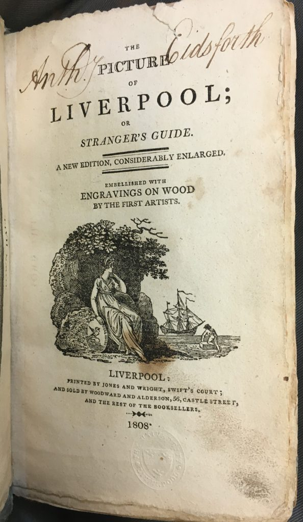 Title page of The Picture of Liverpool