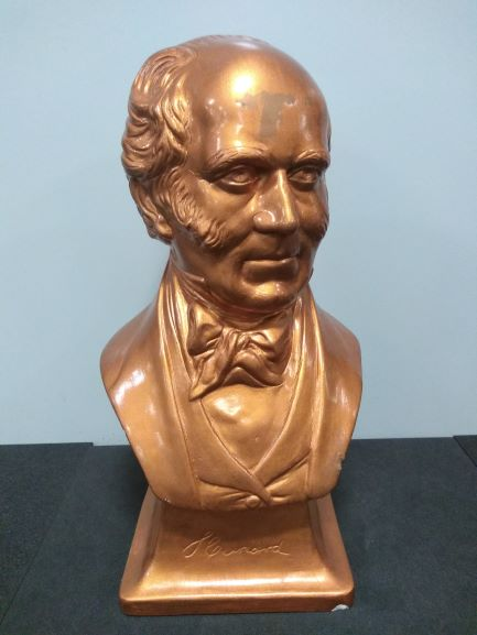 Portrait bust of Samuel Cunard from New York Office