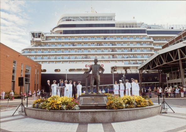 Rededication of Samuel Cunard statue Halifax