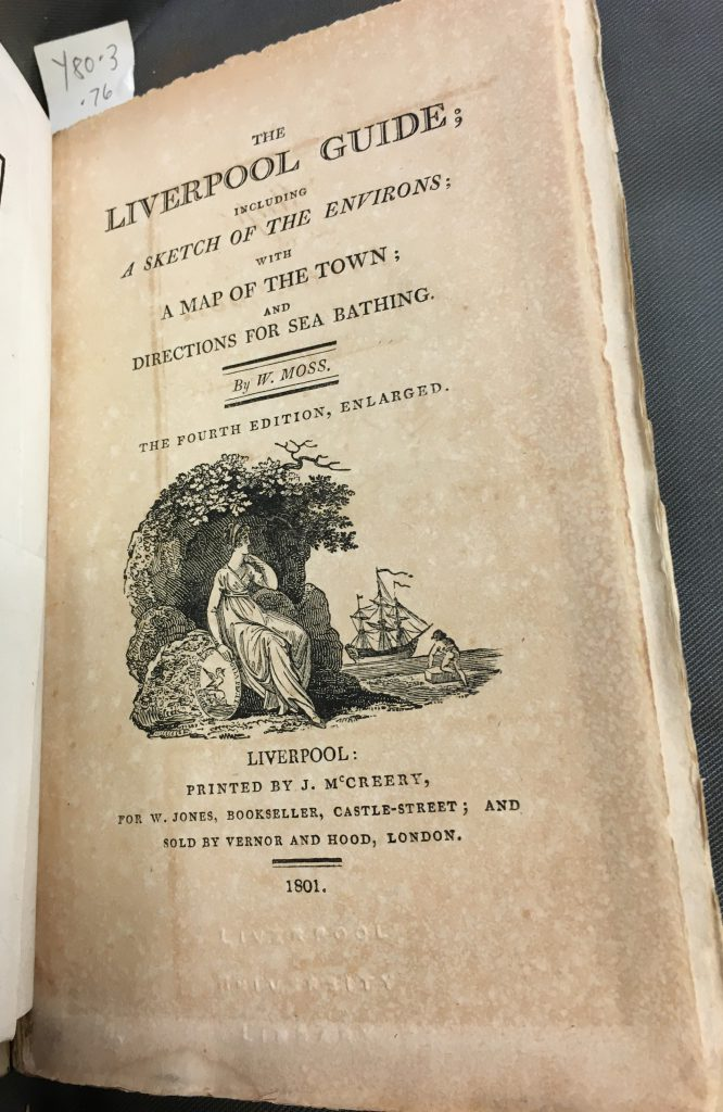 Title page of The Liverpool Guide
