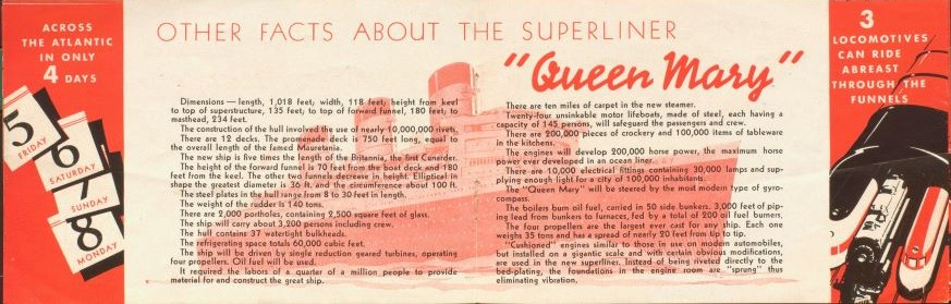 Queen Mary 'Questions and Answers' booklet