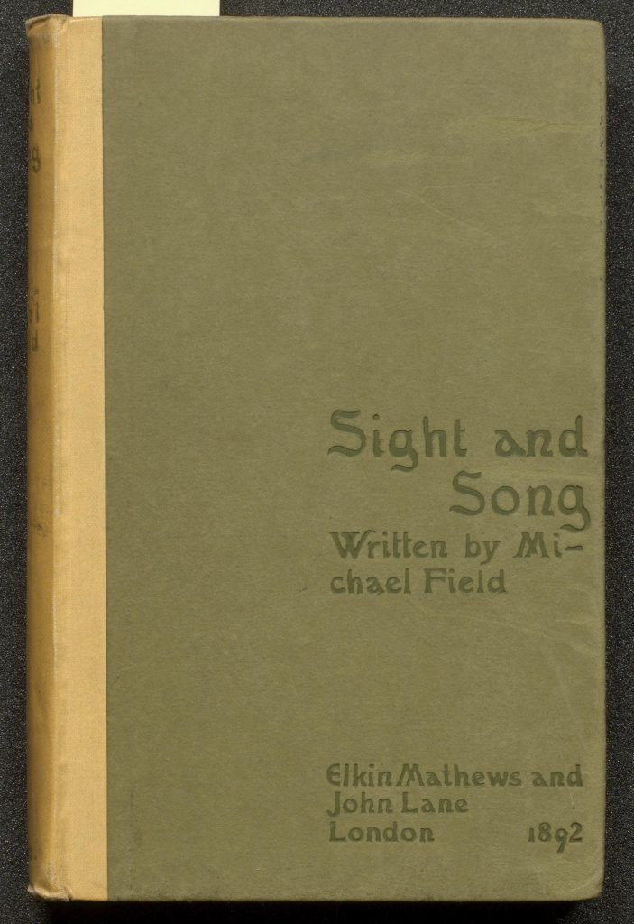 Binding of Siught and Song by Michael Field