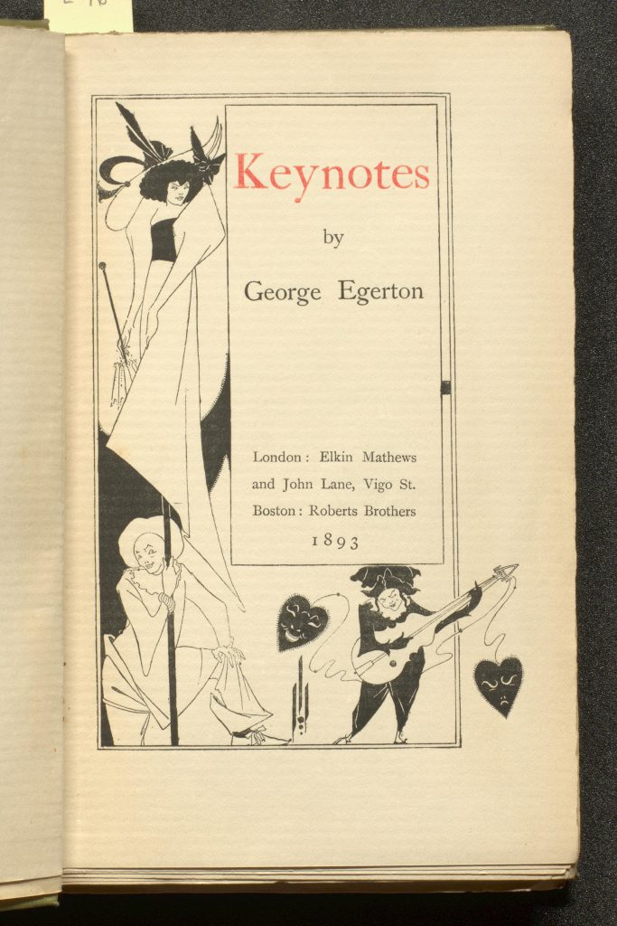 Title page of Keynotes
