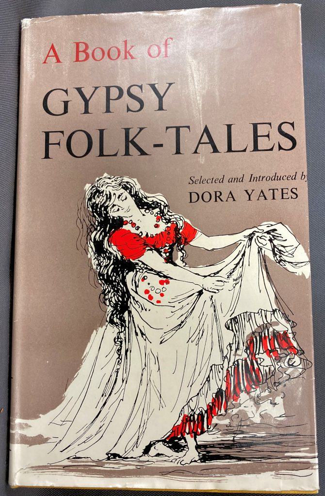 """Front cover of Dora Yate's """"A book of Gypsy folk-tales"""""""