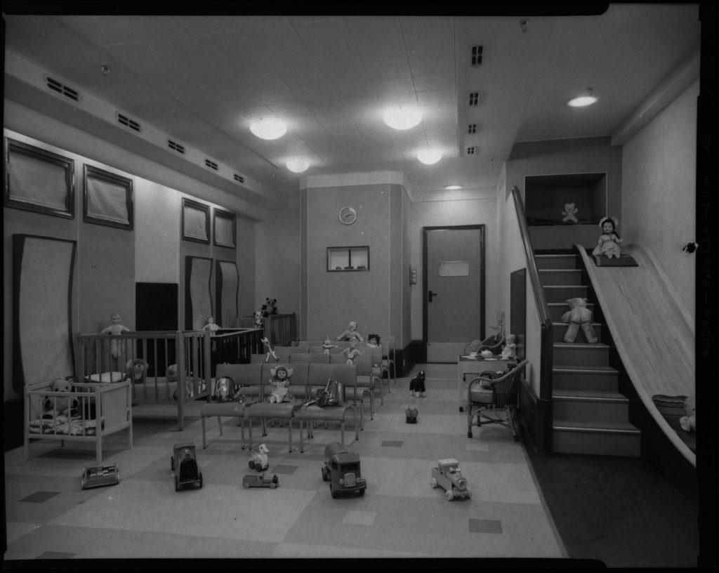 Children's nursery onboard Carinthia III
