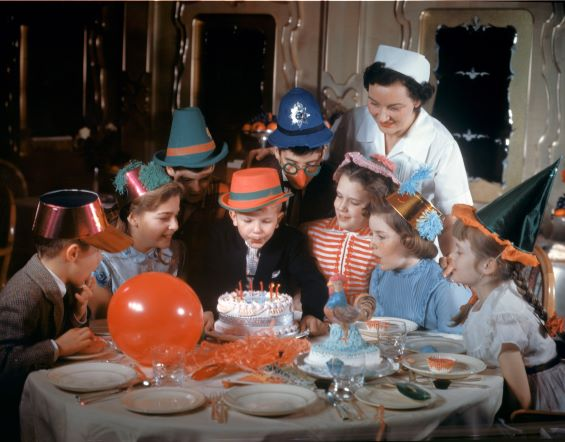 Children's party onboard RMS Queen Mary