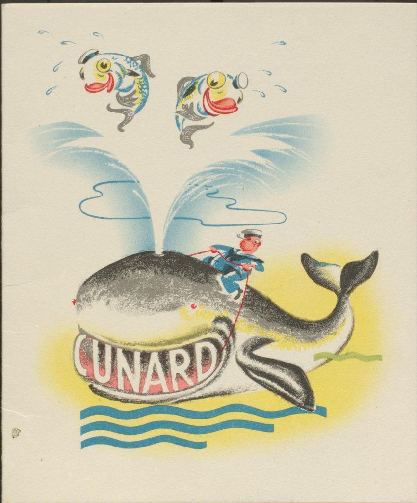 Children's menu card cover
