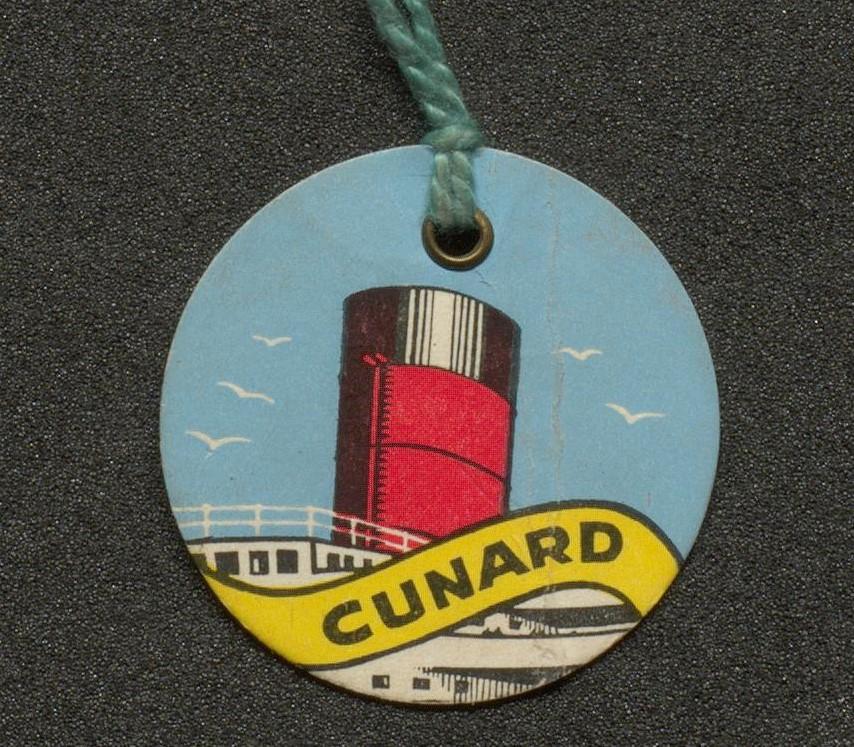 children's Cunard tag